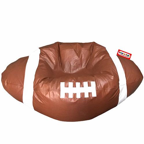 Sillon Puff Balon Futbol Americano Grande. Ideal Para Personas De Hasta  90 Kg
