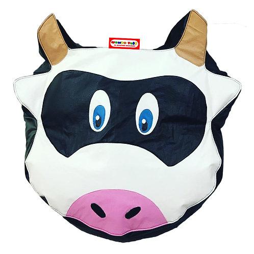 Sillon Puff Vaca. Ideal Para Personas De Hasta 70 Kg