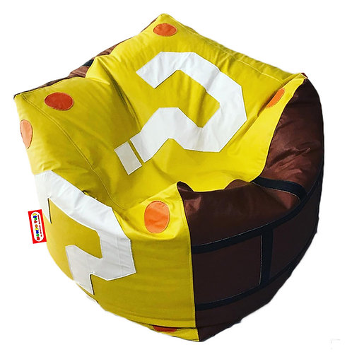 Sillon Puff Cubo What. Ideal Para Personas De Hasta 100 kg