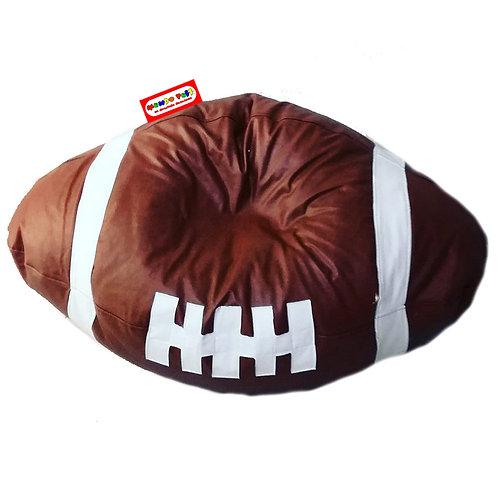 Sillon Puff Balon Futbol Americano Chico. Ideal Para Peques De Hasta 20 kg