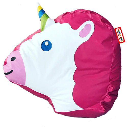 Sillon Puff Unicornio. Ideal Para Personas De Hasta 70 Kg
