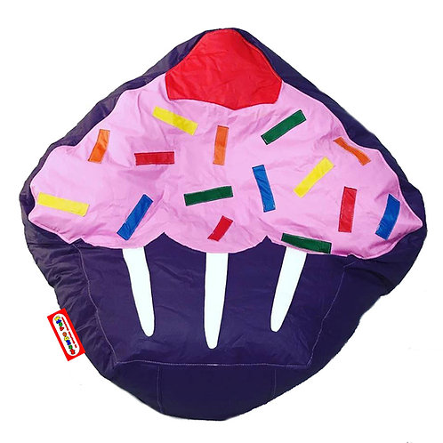 Sillon Puff Cupcake. Ideal Para Personas De Hasta 75 Kg