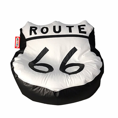 Sillon Puff Route 66, Ideal Para Personas De Hasta 80 Kg