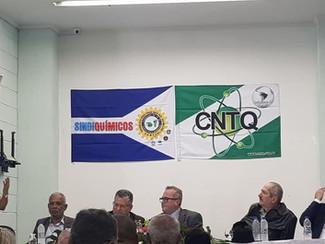 Posse de diretoria do Sindicato Dos Químicos de Guarulhos. Presidente Silvan parabéns.