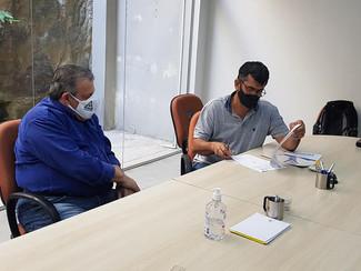 Entrega da Pauta de negociação no Sindicato Patronal Sinditec