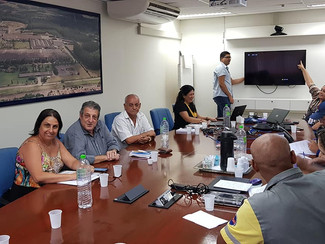 Reunião do PPR na empresa Santista Têxtil em Americana