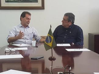 Reunião com Paulinho da força no Sindmestres.