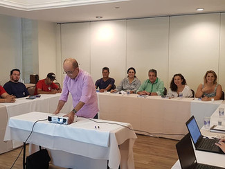 Reunião do PPR com as Empresas Intertrin e Trintec em Taubaté.