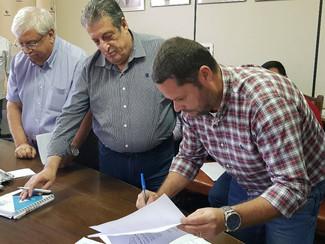 Reunião para o fechamento e pagamento do PPR/PLR na empresa Maliber em Itatiba.
