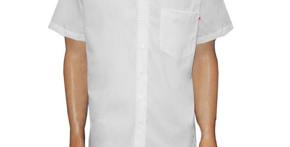 Camisa Social Branca M/C