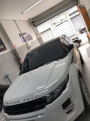 Range Rover evoque aplicação de insulfilme G5