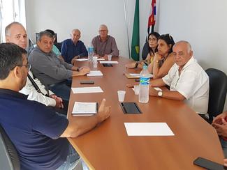Reunião na Fetratex com o Presidente do Sinditec