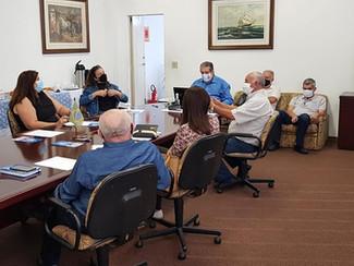 Reunião para elaboração da pauta Unificada das Federações Têxteis
