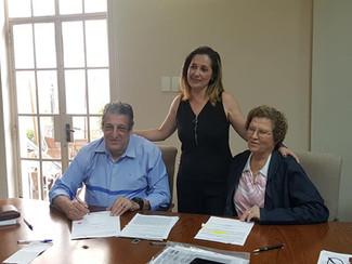 Assinatura das Convenções Coletivas de Trabalho. Sinditextil. Sietex. Sindcordoalha. Sindmalharias.