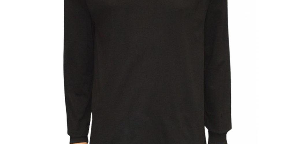 Camiseta Básica Preta M/L