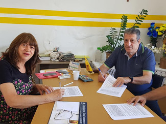 Reunião com a empresas Nisshinbo do Brasil em Tatuí.