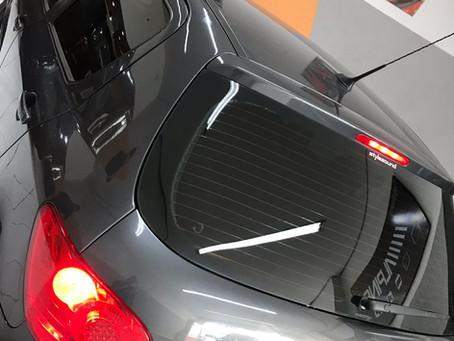 Peugeot 207 aplicação de película g05