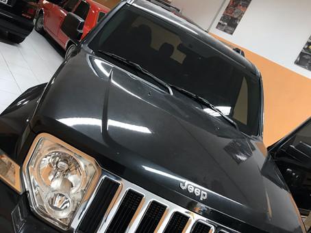 Jeep 2014 aplicação de insulfilme g20