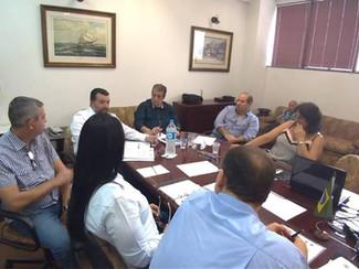 Reunião da Fetratex para finalização das Pautas para serem entregues nos Sindicatos Patronais. Sindi