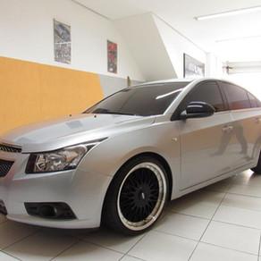Projeto Chevrolet Cruze - Som Automotivo