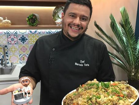 Chef Marcelo Faria