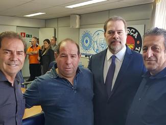 Palestra Democracia E Direitos. Com o Presidente do STF. Dias Toffoli.