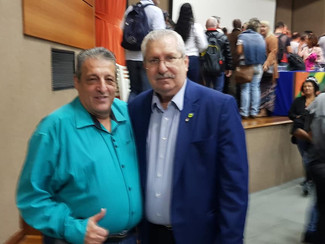 Palestra no Sindicato dos Metalúrgicos de São Paulo. Governador do Maranhão Flávio Dino.