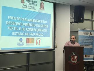 Lançamento da Frente Parlamentar setor têxtil Alesp