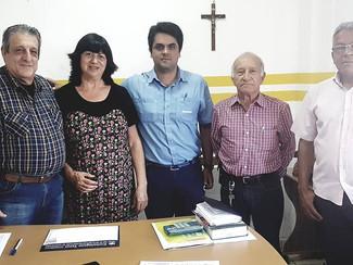 Reunião do PPR da empresa Nisshinbo do Brasil de Itapetininga no sindicato têxtil de Tatuí