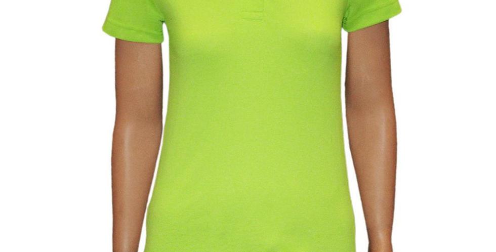Pólo Feminina Verde