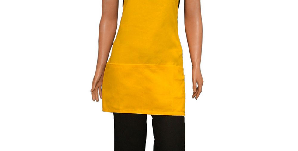 Avental Patty Amarelo Ouro