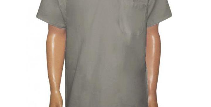 Camisa Gola Italiana Cinza