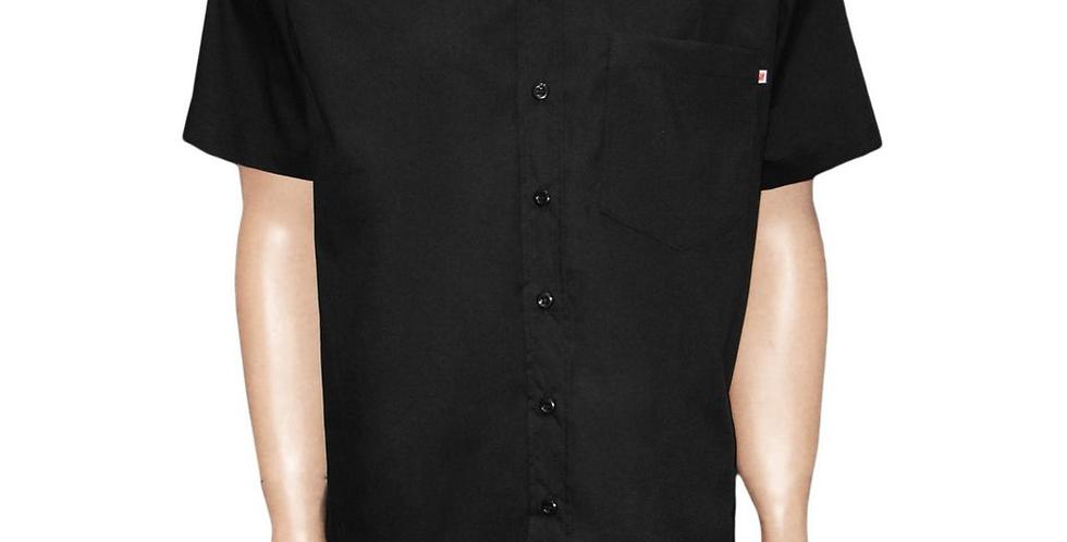 Camisa Social Preta M/C