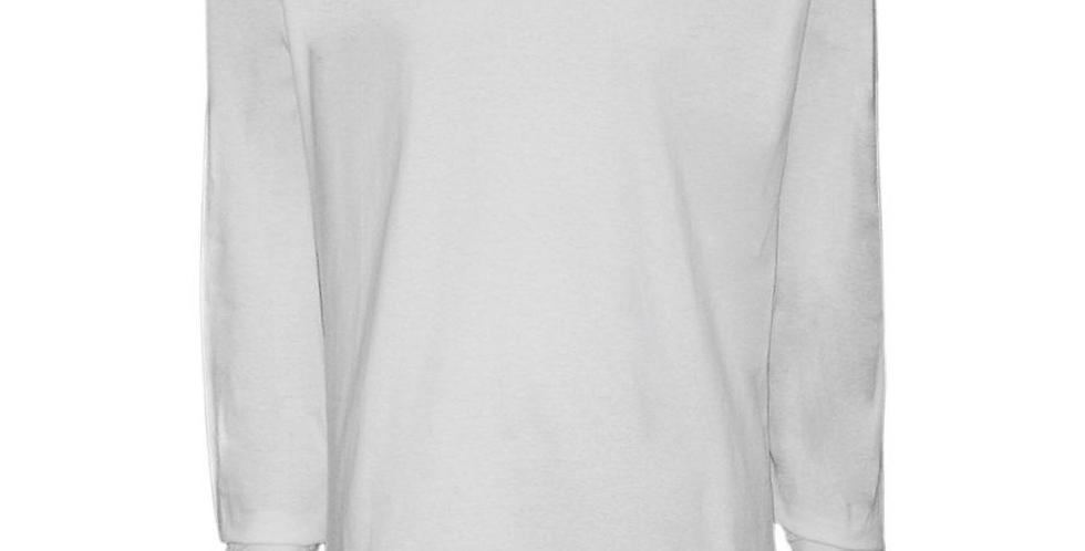 Camiseta Básica Branca M/L