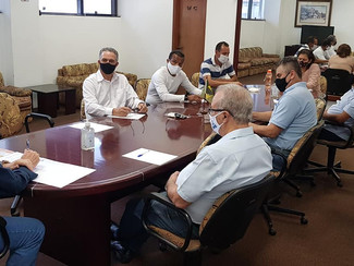 Reunião de Diretoria para Discussão pa Pauta de Reivindicações da CCT 2020/21