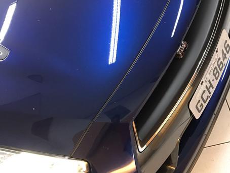 Nissan GT R 2017 aplicação de película anti vandalismo ps8 e desbloqueio de dvd e Tv full hd