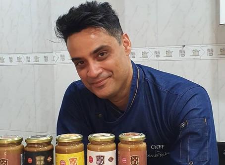 Chef Flavio Ribeiro Café Caramello gelado!!!!