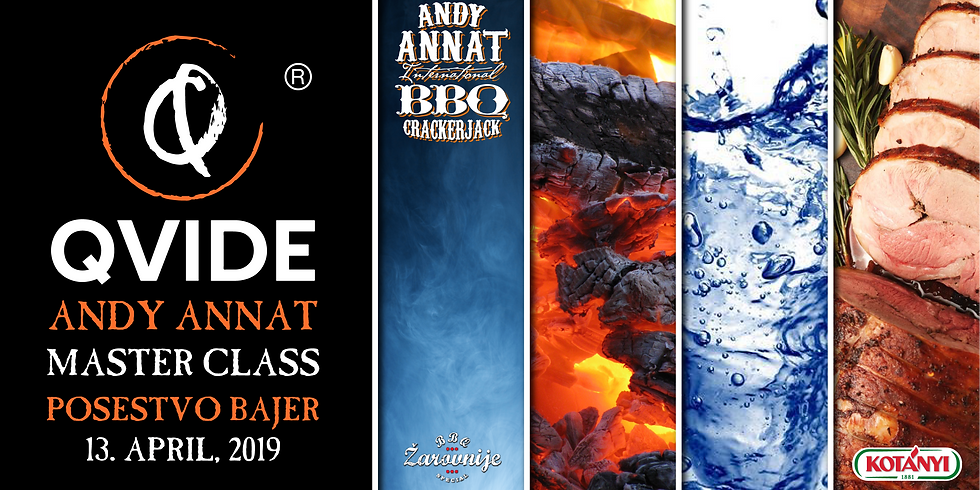 Q-VIDE® with Andy Annat - BBQ Catering Master Class