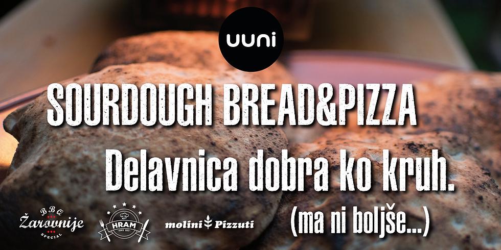 Sourdough&Pizza - Delavnica dobra ko kruh