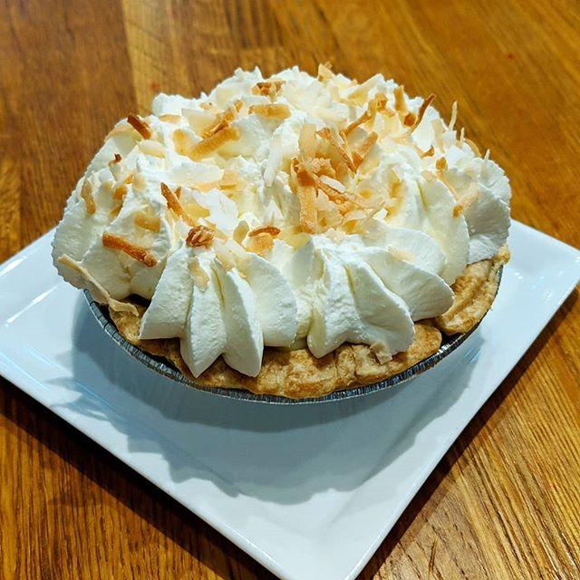 Order your own mini coconut cream pies!
