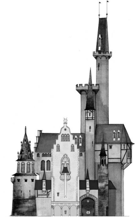 The tale of Despereaux / set design