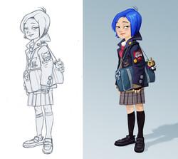 INVIZIMALS tv serie/character design