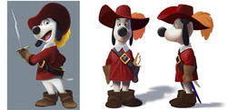 CHARACTER DESIGN RESEARCH FOR - Dogtanian feature film - teaser_edited