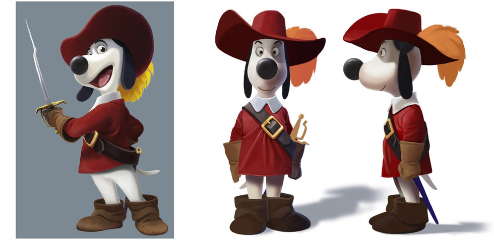 CHARACTER DESIGN RESEARCH for the animated feature film DOGTANIAN / teaser