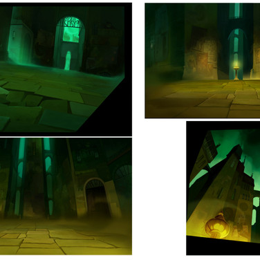 BACKGROUND COLOUR SUPERVISOR and BACKGROUND PAINT for the animated feature film NOTURNA