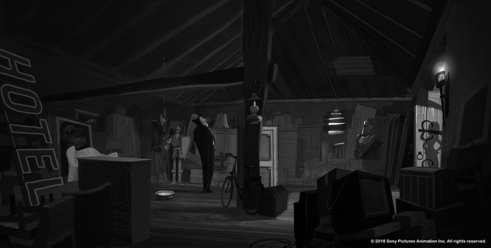 VISUAL DEVELOPMENT for Hotel Transylvania 3  © 2018 Sony Pictures Animation Inc. All rights reserved.