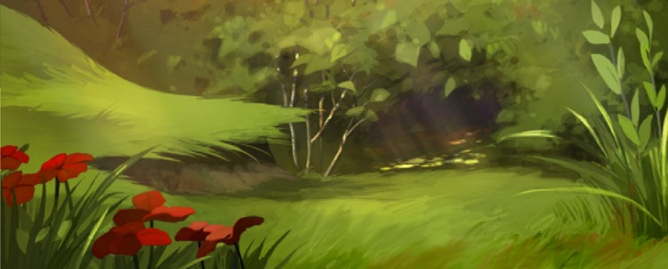 ENVIRONMENT DESIGN for animated tv spot - isotonic drink