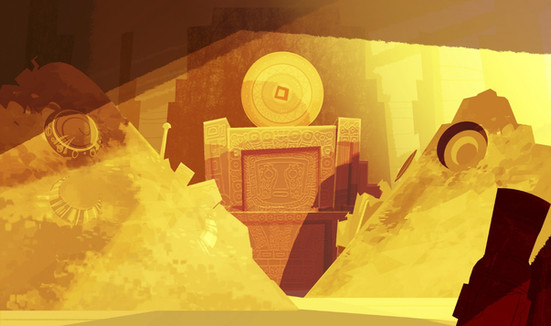BACKGROUND DESIGN for the animated feature film TADEO JONES