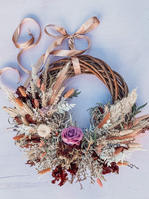 Delicate Pinks Wreath