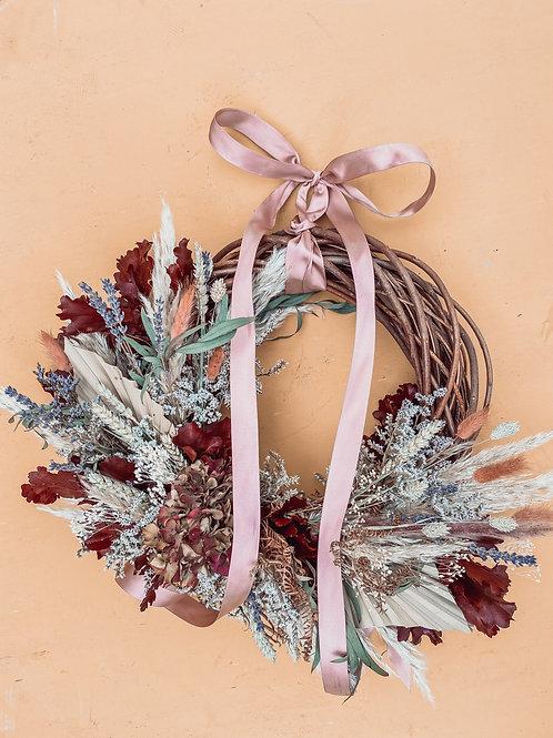 Lavender & Berry Wreath